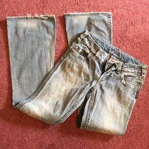 Silver size 27 jeans